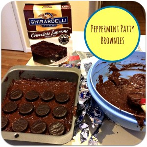 Pinterest Success: Peppermint Patty Brownies!