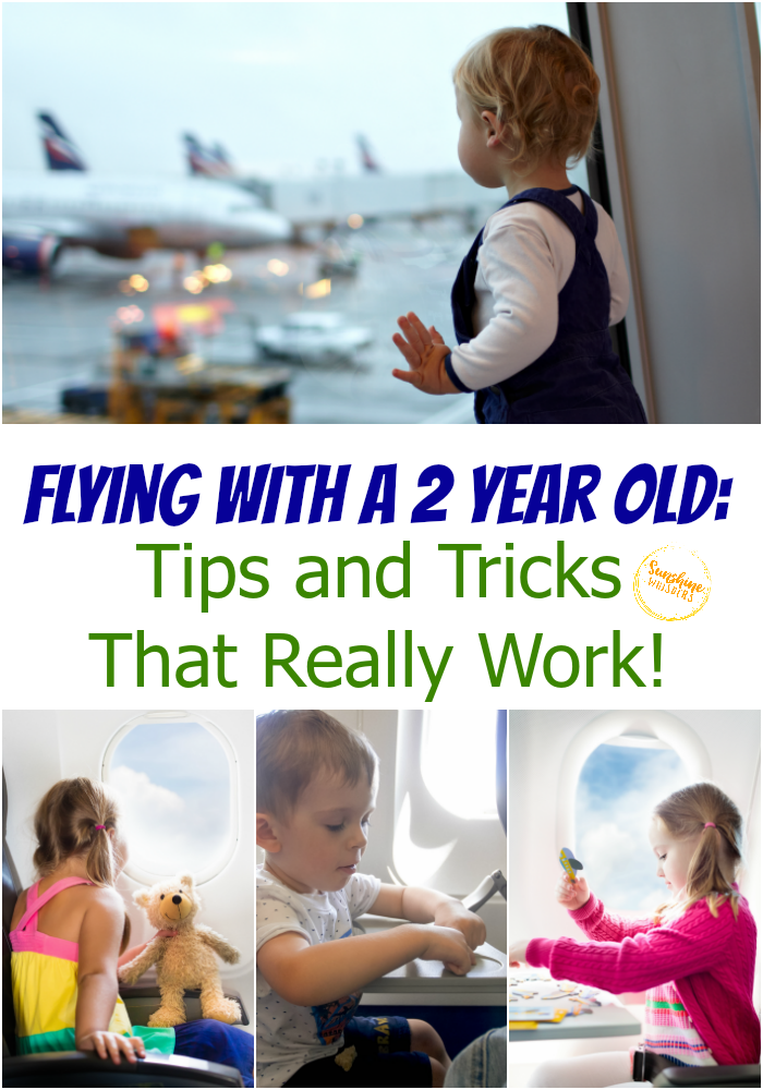 flying with 2 year old