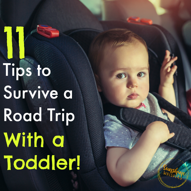 11 Tips To Help You Survive A Road Trip With A Toddler