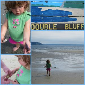 Double Bluff Beach with Toddler