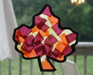 tissue-paper-leaf