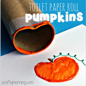 toilet-paper-roll-pumpkin-halloween-craft