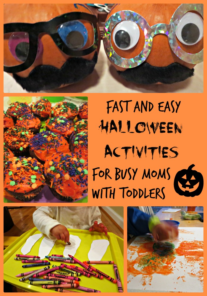 Fast and Easy Halloween Activities for Busy Moms With Toddlers