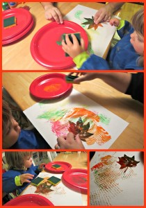 Fall Leaf Crafts with Toddlers
