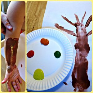 Fall Leaf Crafts for Toddlers