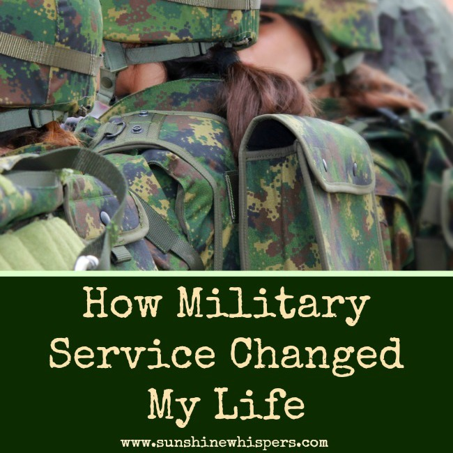 How Military Service Changed My Life
