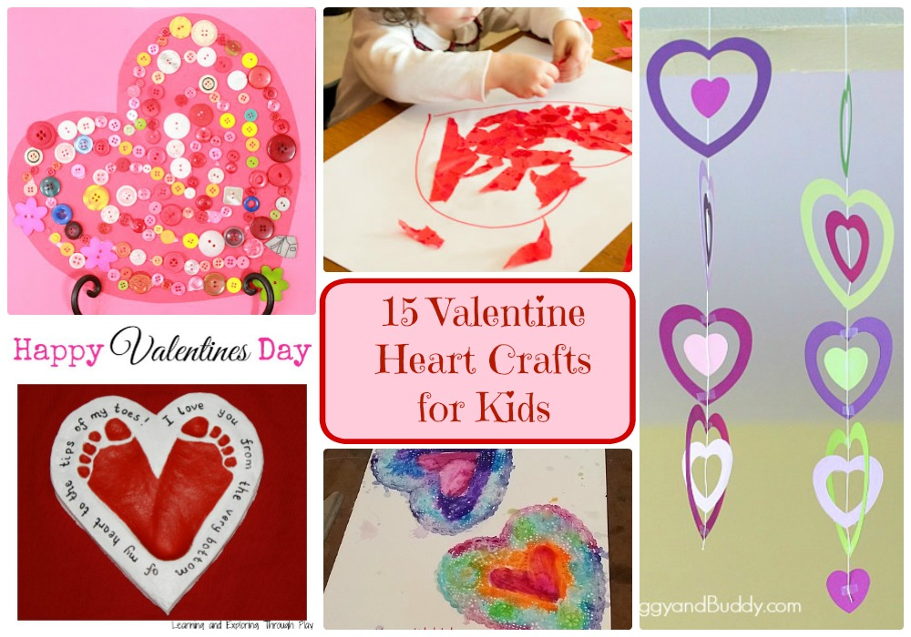 Valentine Heart Crafts for Kids