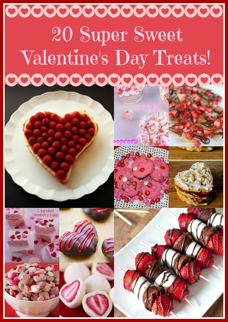 20 Super Sweet Valentine's Day Treats