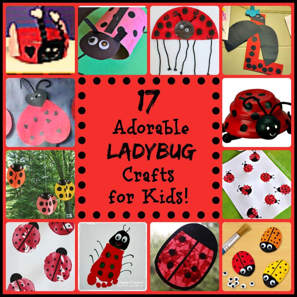Lady Bug Crafts for Kids