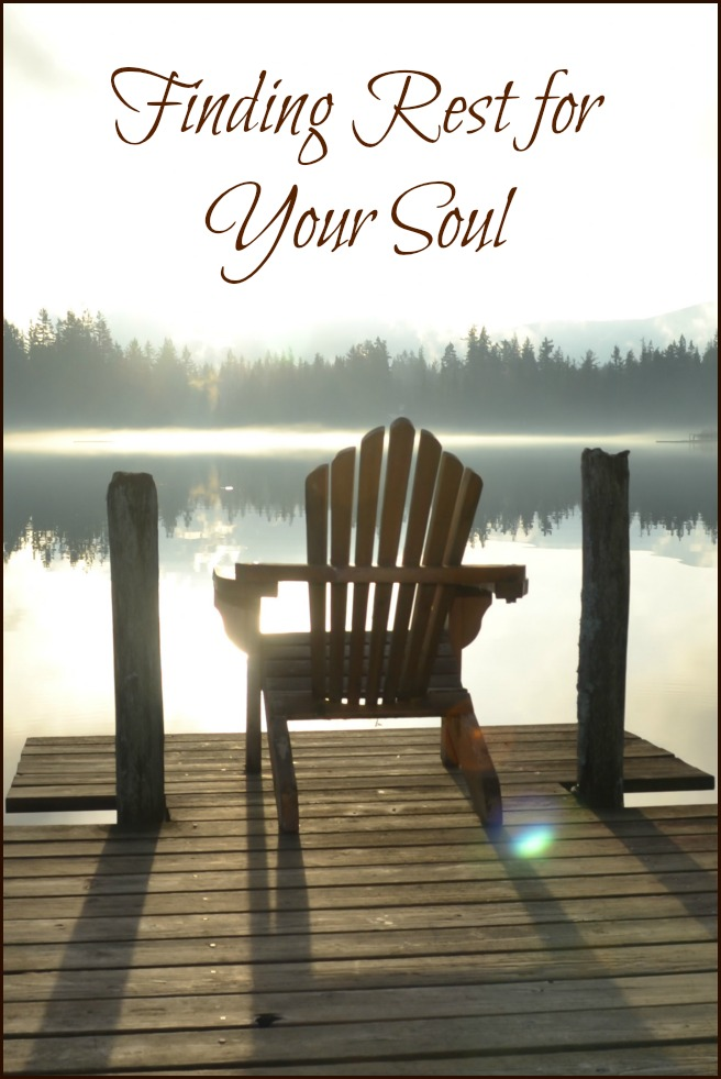 Women Encountering Jesus Bible Study Lesson: Finding Rest for Your Soul