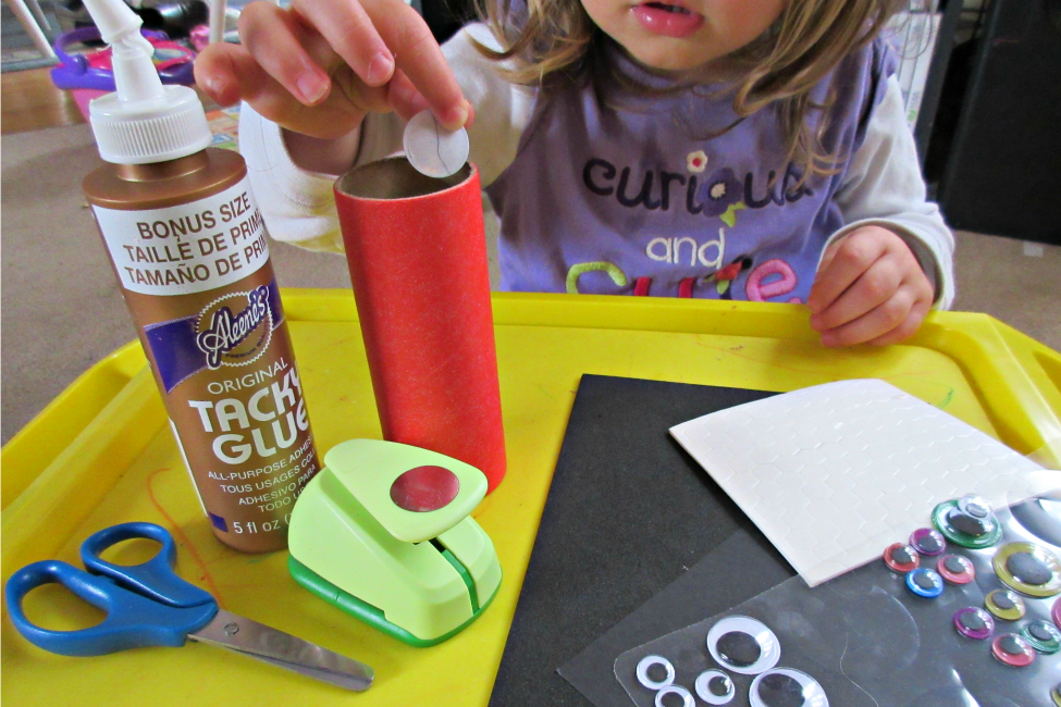 toilet paper roll ladybug crafts for kids