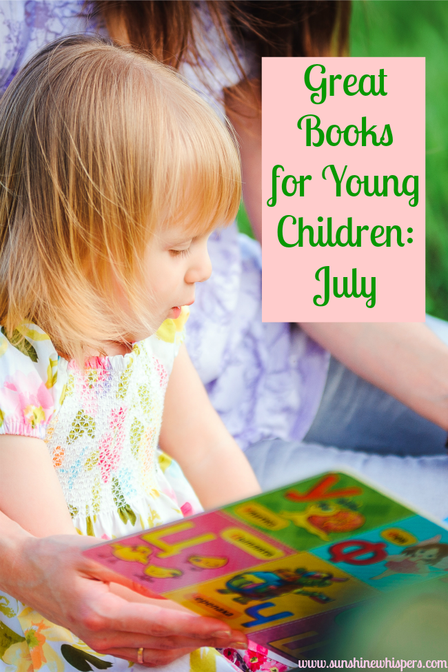 great books for young children july