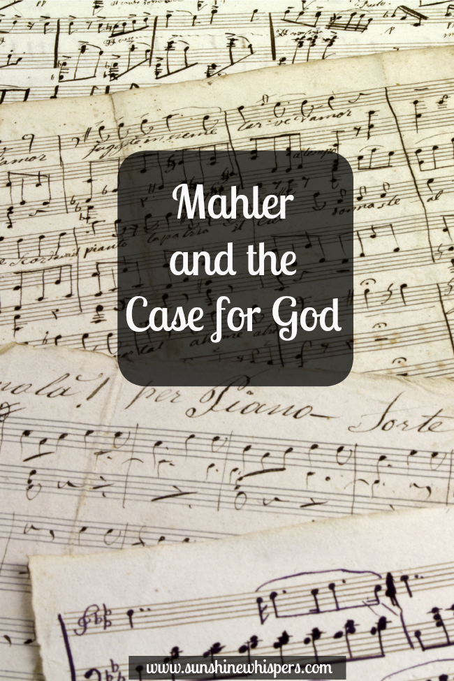mahler and the case for god