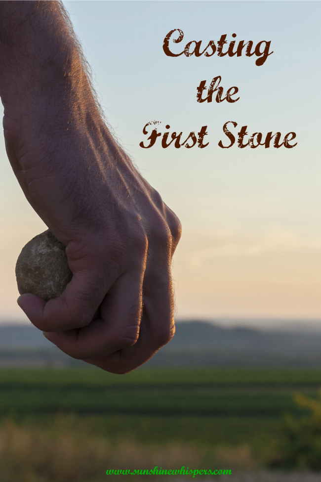 women encountering jesus bible study lesson: casting the first stone