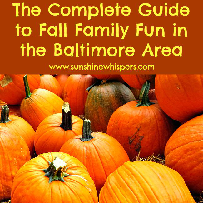 fall family fun baltimore