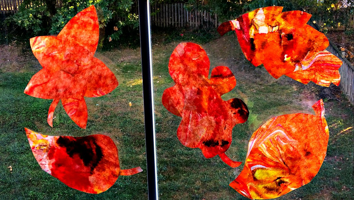 Fall paper crafts for kids