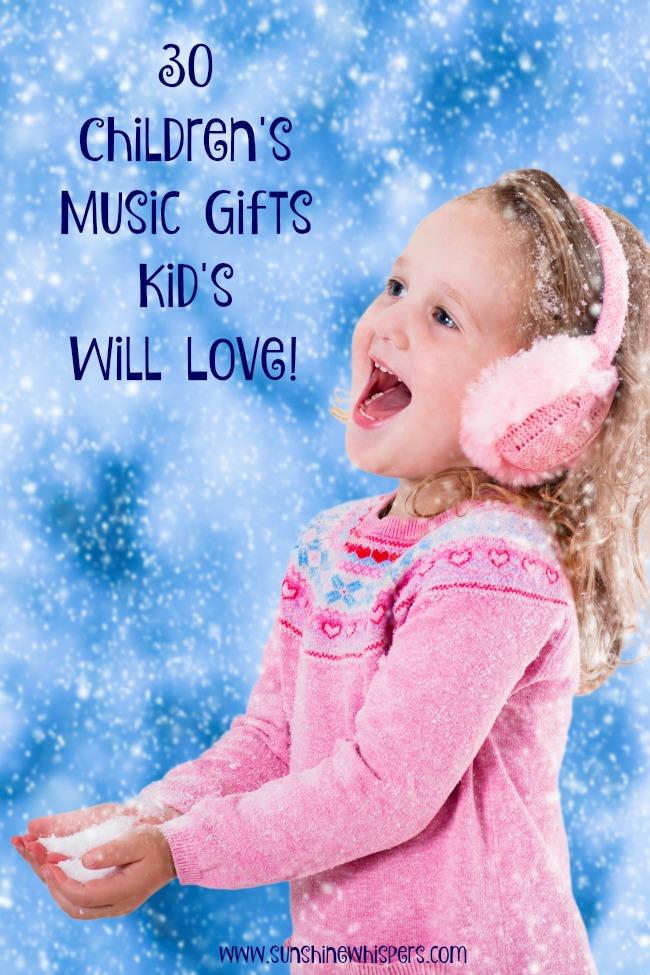 30 children's music gifts