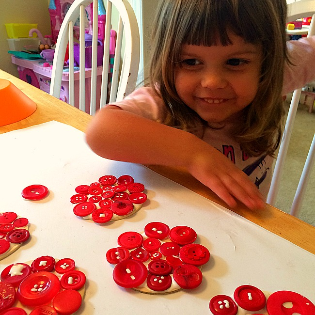 apple button crafts for kids