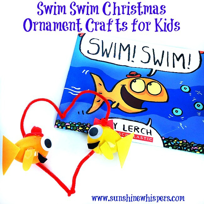 Swim Swim Christmas Ornament