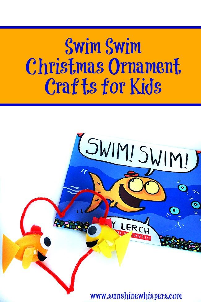 swim swim ornament crafts for kids 1