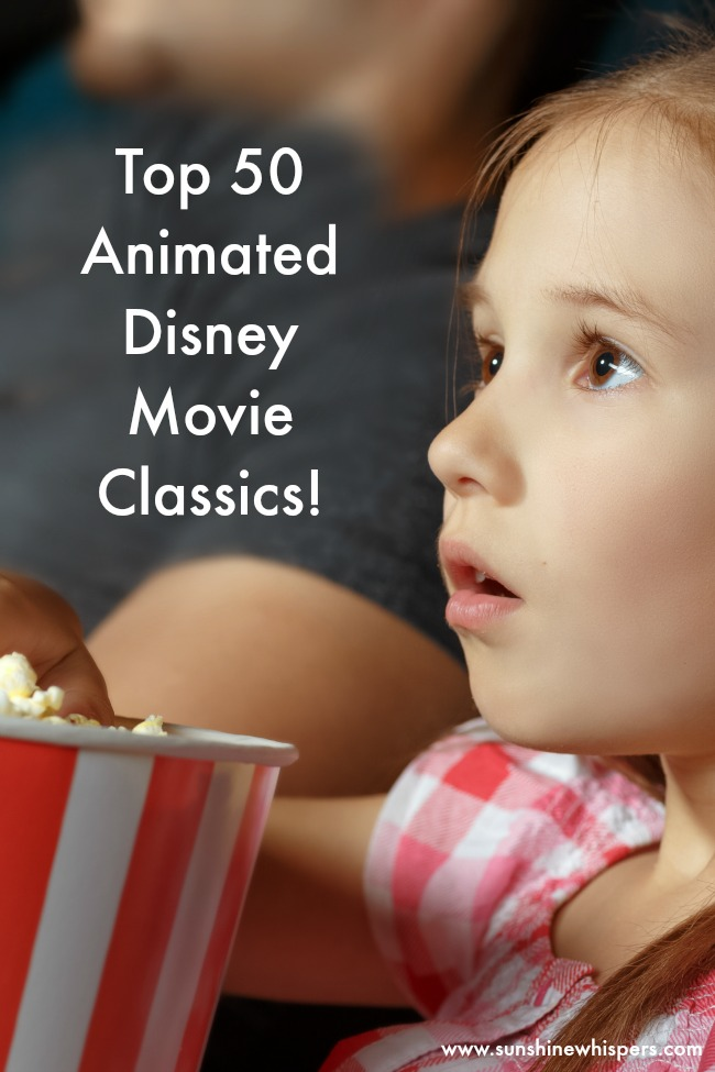 disney movie list