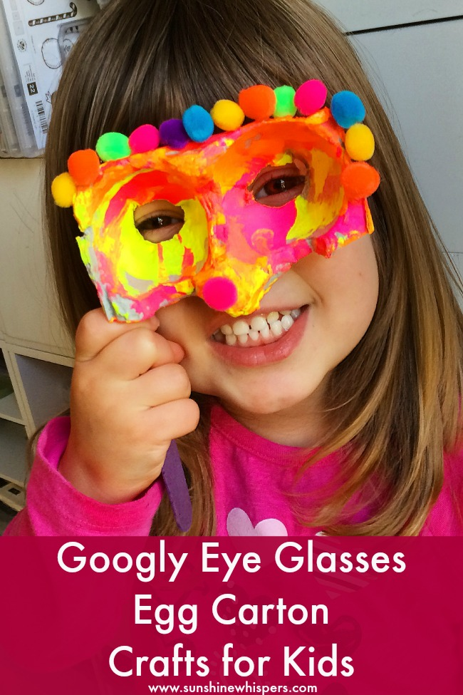 googly eye glasses egg carton crafts for kids 2