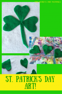 St. Patrick's Day Art! _monets and mommy
