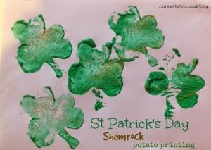 st-patricks-day-shamrock-potato-printing-1024x728_clares little tots
