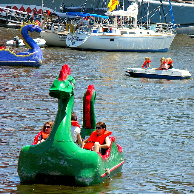 Inner Harbor attractions for kids