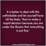 fail at self care 7