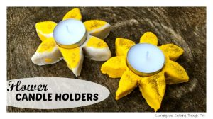 00 - Salt Dough Candle Holders - Learning and Exploring Through Play