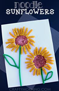 noodle-sunflower-spring-summer-craft-for-kids_crafty morning