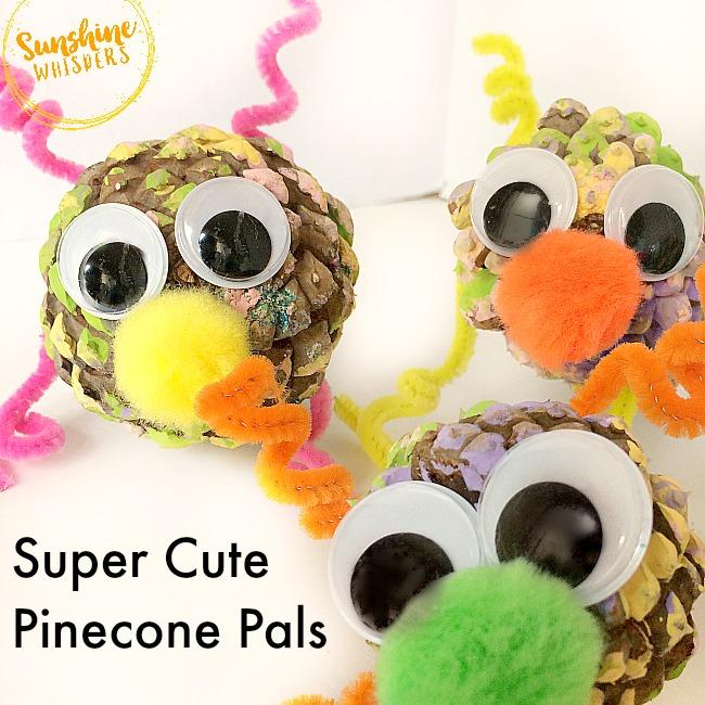 Super Cute Pine Cone Pals