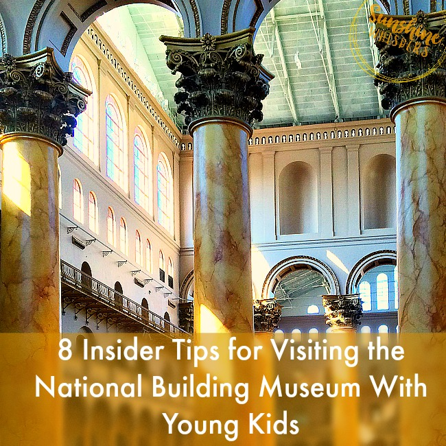 8 Tips for Visiting the National Building Museum With Young Kids