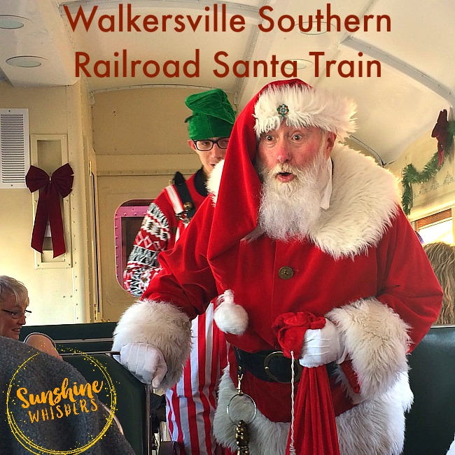 The One Reason Your Kids Must Ride the Walkersville Southern Railroad Santa Train