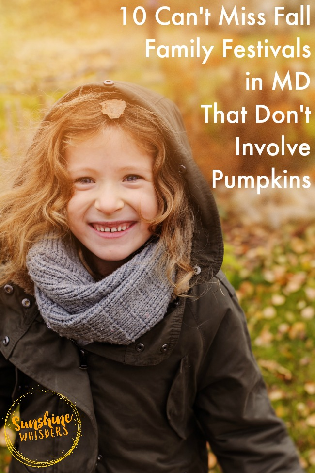 fall family festivals in Maryland