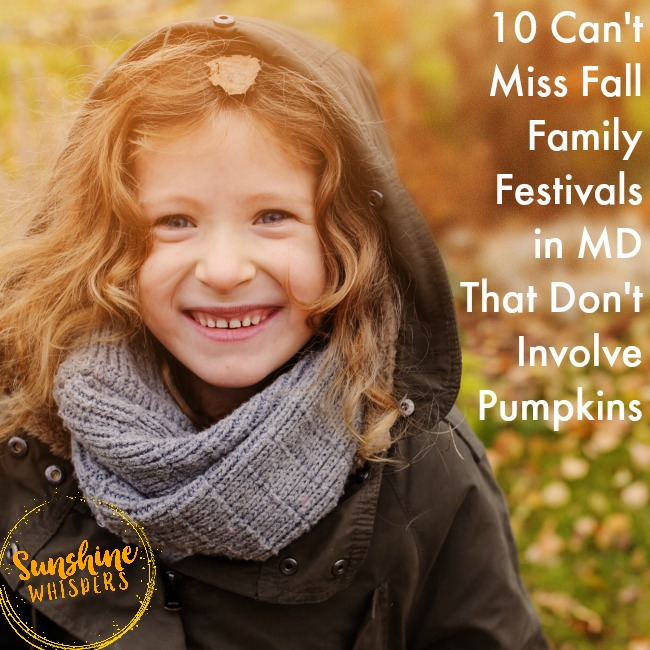 10 Can't Miss Fall Family Events in Maryland That Don't Involve Pumpkins