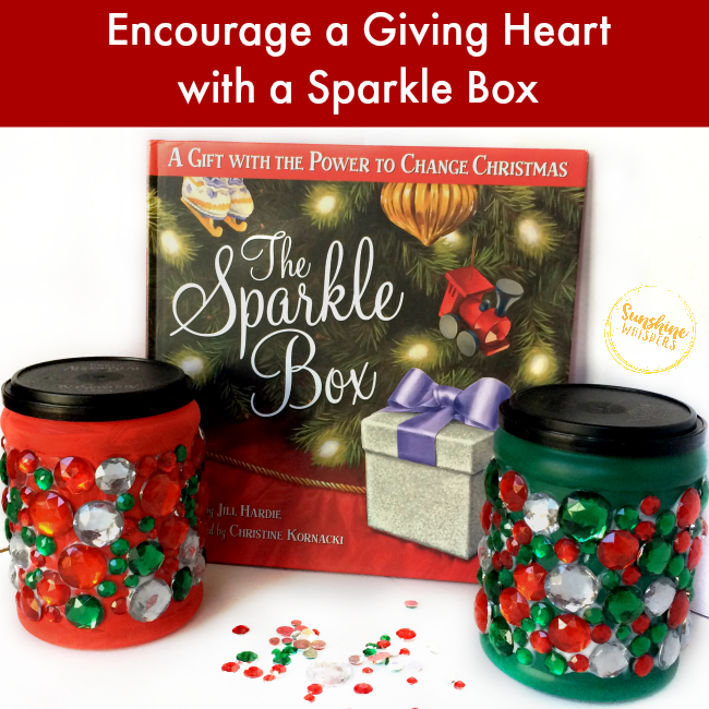 Cultivate A Giving Heart With A Sparkle Jar