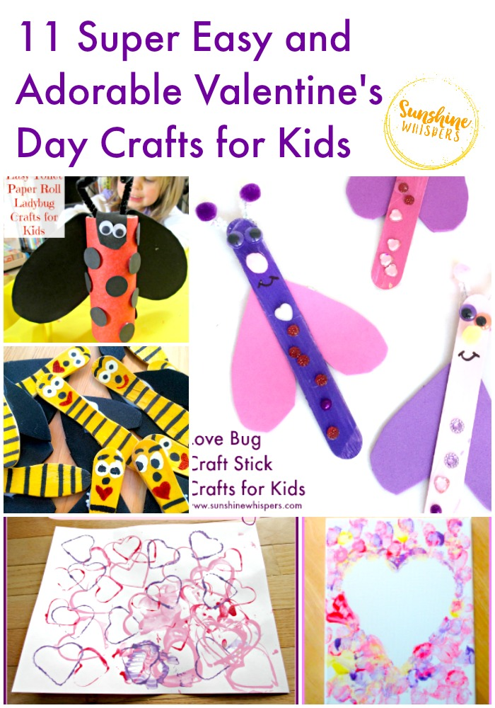 valentines day crafts for kids