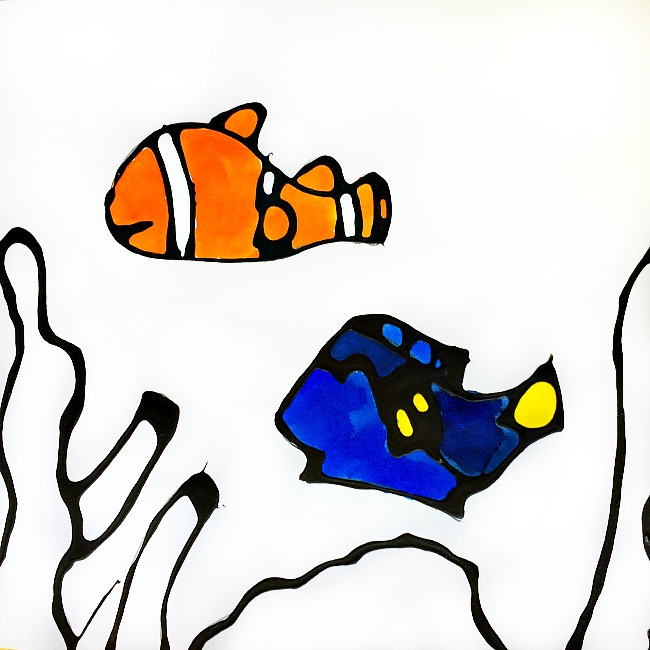 Dory and Nemo crafts