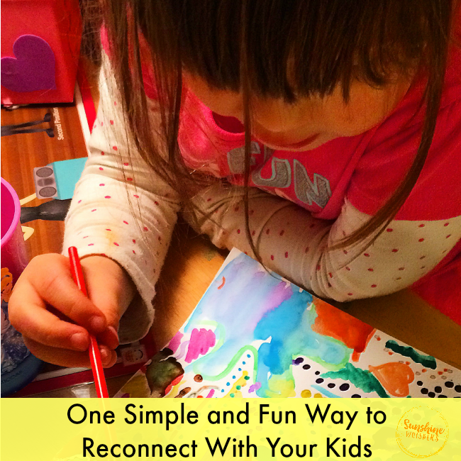Creating Art Together is a Simple Way to Reconnect With Your Kids