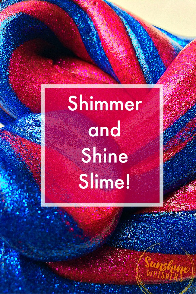 shimmer and shine slime