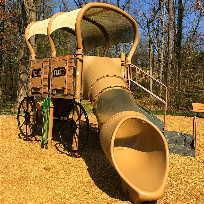 historic flour mill playground