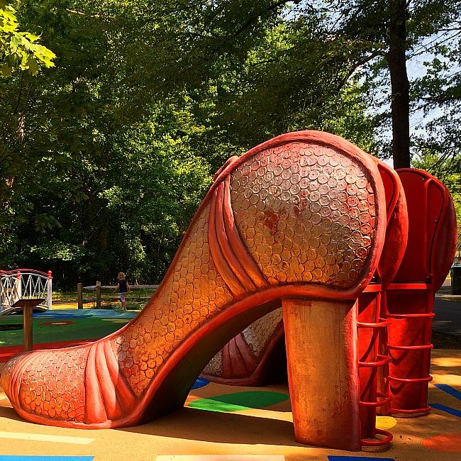 Wizard of Oz playground