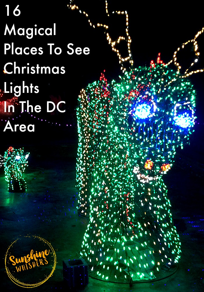 Christmas Lights In And Around Dc 2020 Magical Places To See Christmas Lights In The DC Area (2020 update)