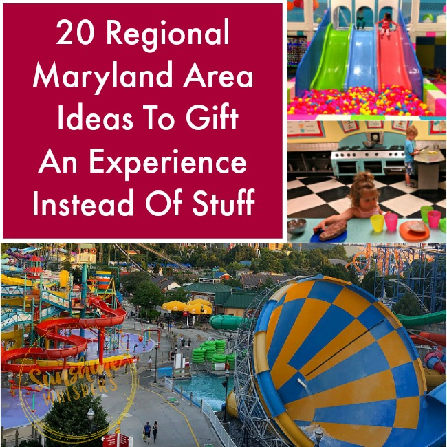 20 Regional Maryland Area Ideas To Gift An Experience Instead Of Stuff