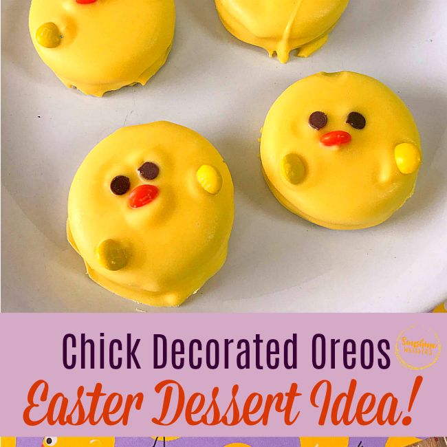 chick oreos easter dessert ideas