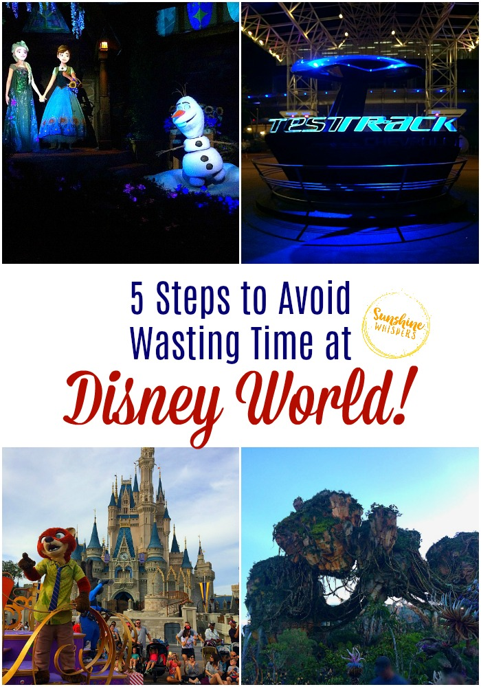 avoid wasting time at disney world