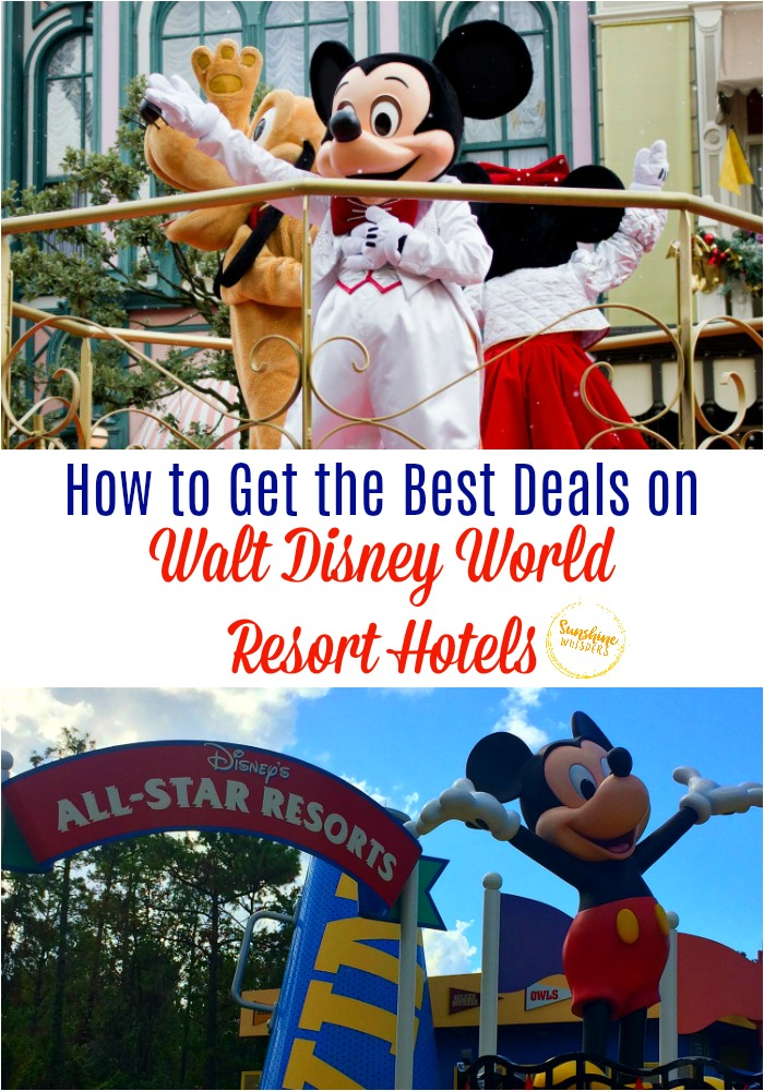 best deals on walt disney world resort hotels