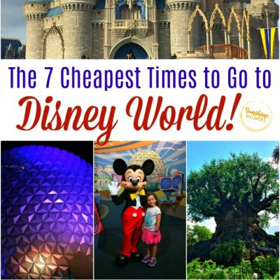 cheapest times to go to disney world